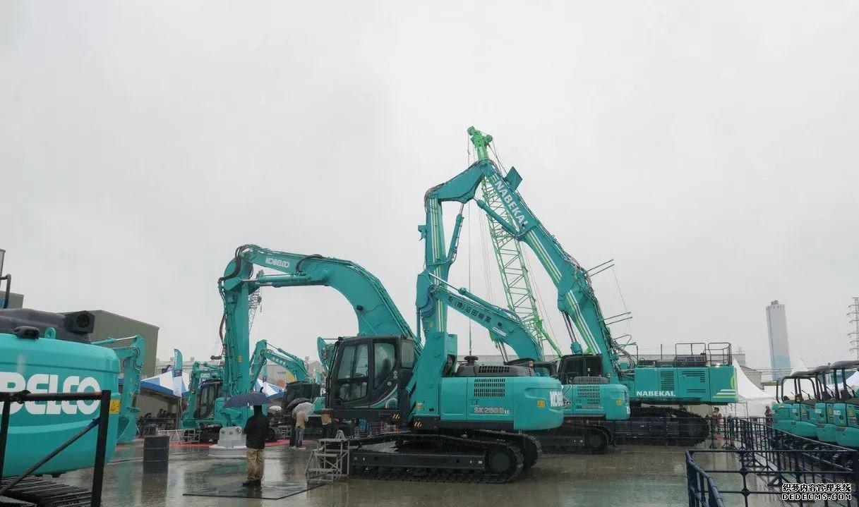 日本神钢挖掘机展会最新挖机发布 行业动态 第8张