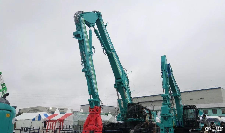 日本神钢挖掘机展会最新挖机发布 行业动态 第3张