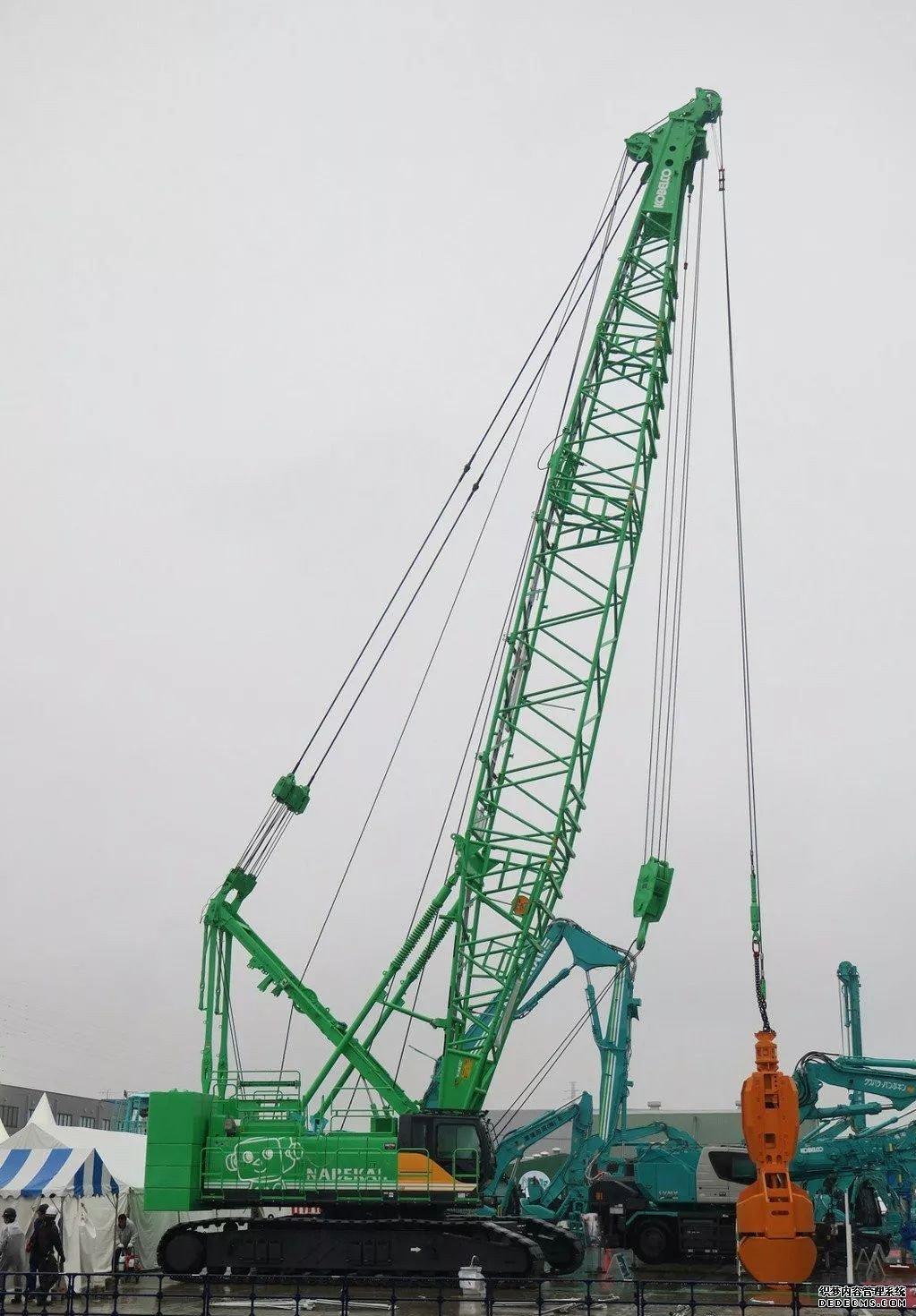 日本神钢挖掘机展会最新挖机发布 行业动态 第11张