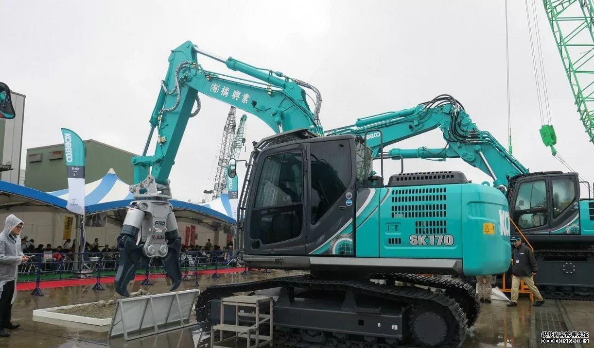 日本神钢挖掘机展会最新挖机发布 行业动态 第5张