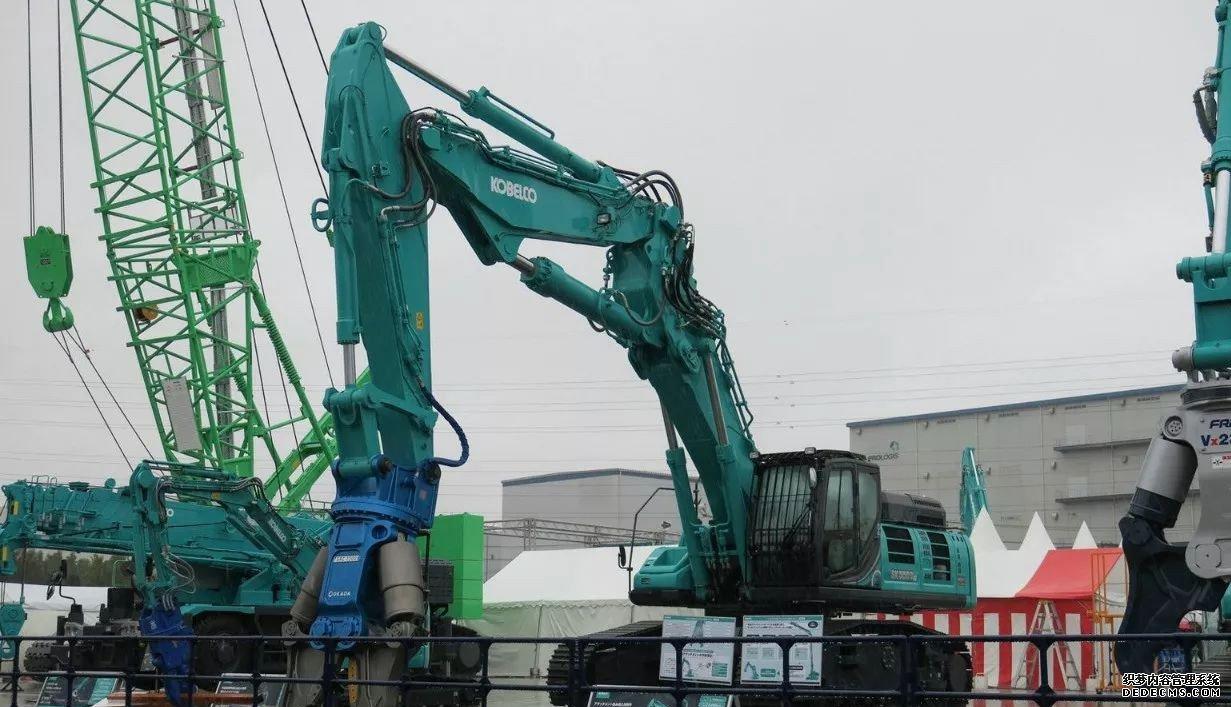 日本神钢挖掘机展会最新挖机发布 行业动态 第1张
