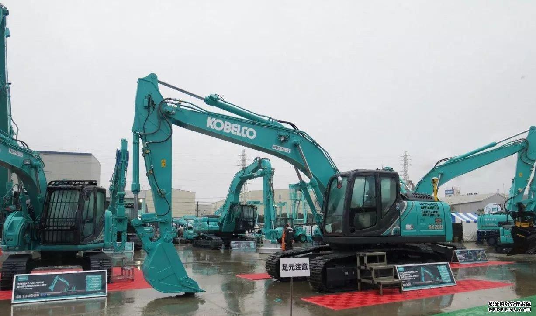 日本神钢挖掘机展会最新挖机发布 行业动态 第7张