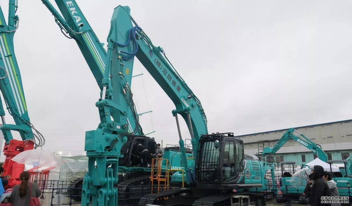 日本神钢挖掘机展会最新挖机发布 行业动态 第4张