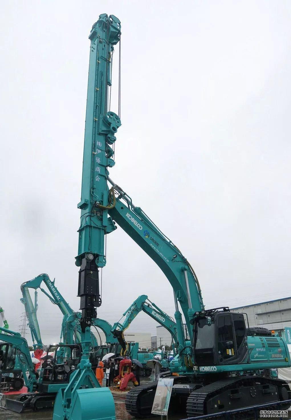 日本神钢挖掘机展会最新挖机发布 行业动态 第6张