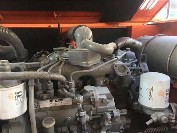日立ZX70進口二手挖掘機出售發動機