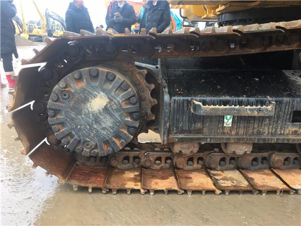 進口卡特320D二手挖掘機出售履帶