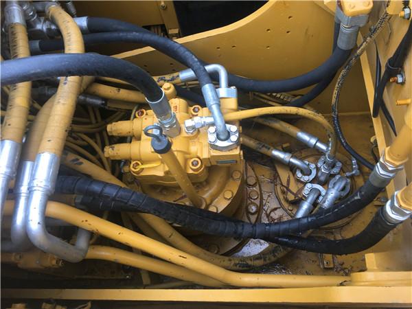 進口卡特320D二手挖掘機出售分配器