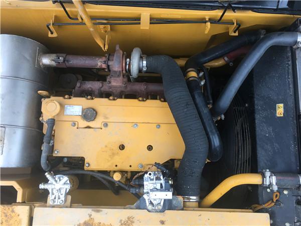 進口卡特320D二手挖掘機出售發動機
