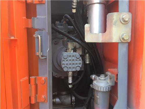 海关日立135无尾二手挖掘机液压泵