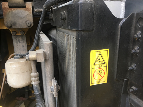 進口小松78US無尾二手挖掘機冷凝器