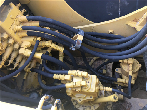 进口小松PC120-6EO二手挖掘机分配器