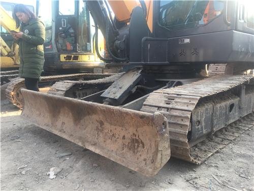 三一60-9二手挖掘機推土板