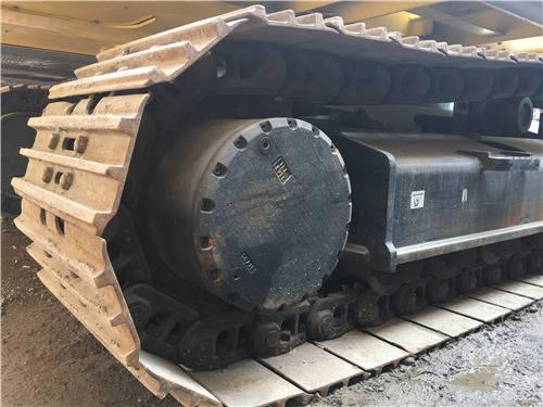 進口二手神鋼350D挖掘機履帶
