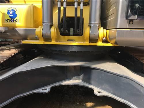 進口二手神鋼350D挖掘機底盤