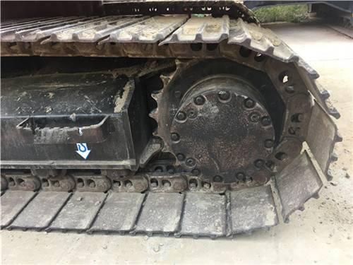 進口二手日立zx120挖掘機履帶