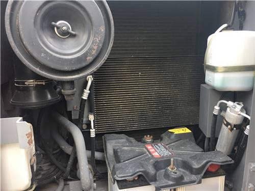 進口二手日立zx120挖掘機冷凝器