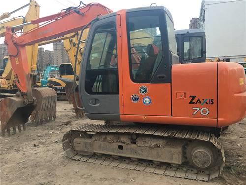 日立zx70二手挖掘機圖片