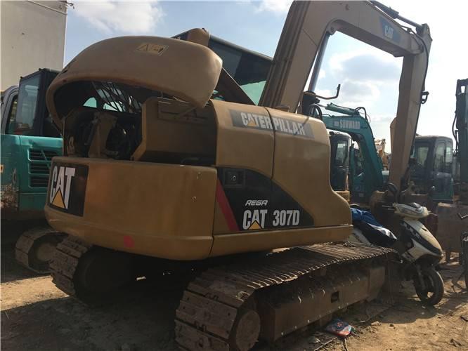 卡特307D二手挖掘機圖片