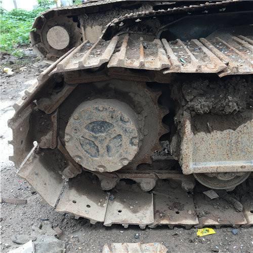 山河智能70二手挖掘機履帶