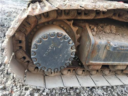 二手沃尔沃360挖掘机履带