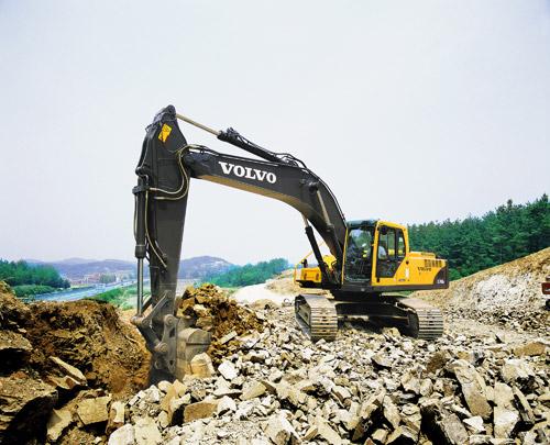 沃尔沃EC290BLC prime 挖掘机