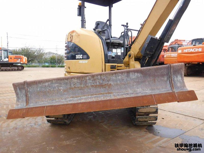 二手卡特303CR挖掘机